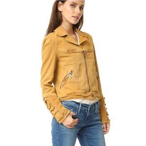 Free People Shrunken Twill Denim Jacket New Small